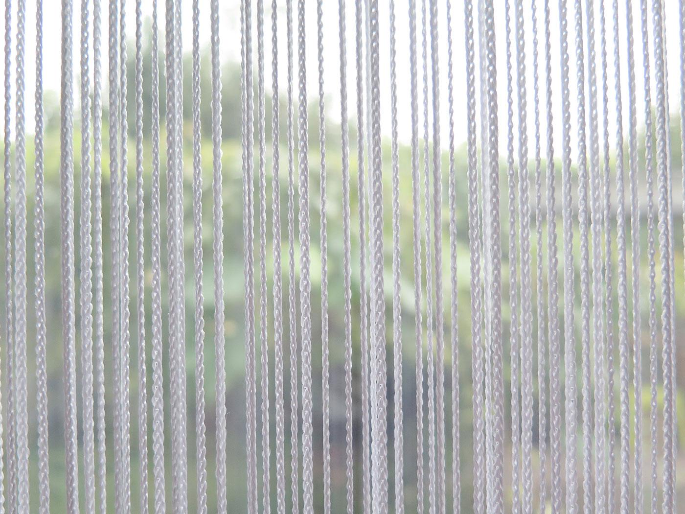 fadenvorhang orienta [weiss] » vorhangbox.ch