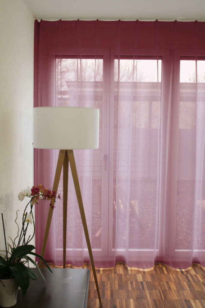 tagvorhang geneva in 22 farbvarianten beige orange. Black Bedroom Furniture Sets. Home Design Ideas
