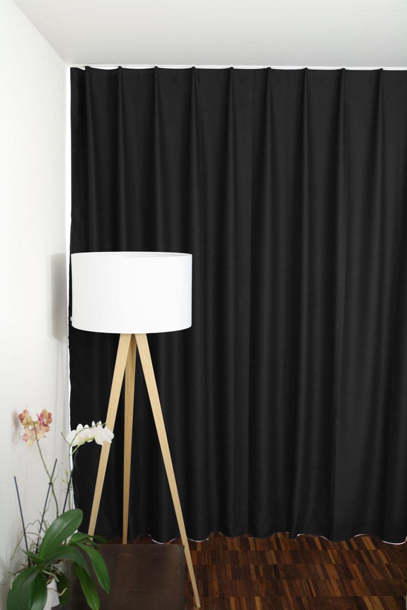 Lichtundurchlässige Vorhänge Vorhangboxch