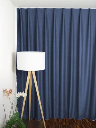 Nachtvorhang Taubenblau Auf Mass / Massvorhang (Hotelvorhang, Blackout  Vorhang) ...