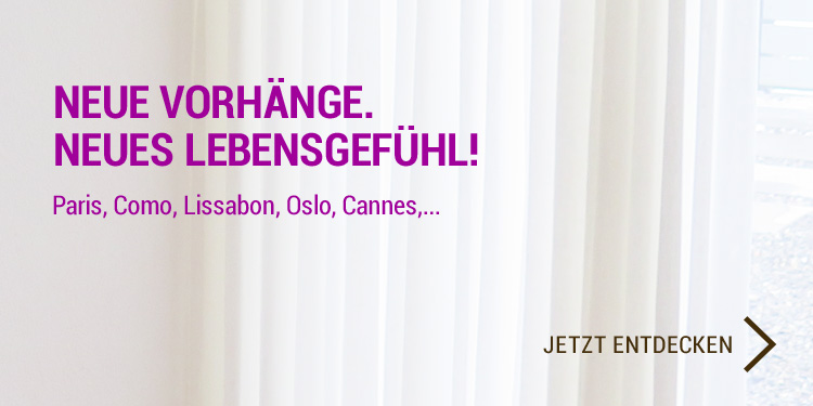 Massvorhänge online bestellen  Vorhänge auf Mass - vorhangbox.ch