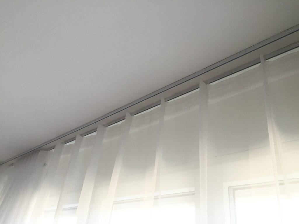 vorhang wohnzimmer modern