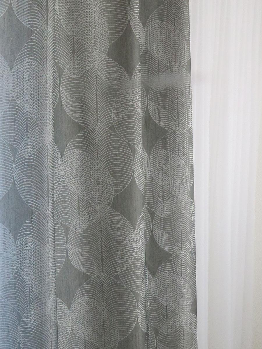 Vorhang Grau Muster dekovorhang kiruna [grau, muster] » vorhangbox.ch