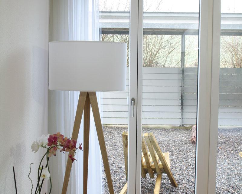transparente vorh nge f r helle r ume. Black Bedroom Furniture Sets. Home Design Ideas