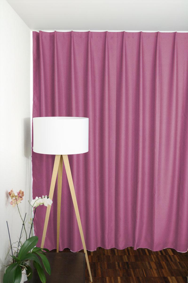 verdunkelungsvorhang f r m dchen kinderzimmer farbe pink. Black Bedroom Furniture Sets. Home Design Ideas