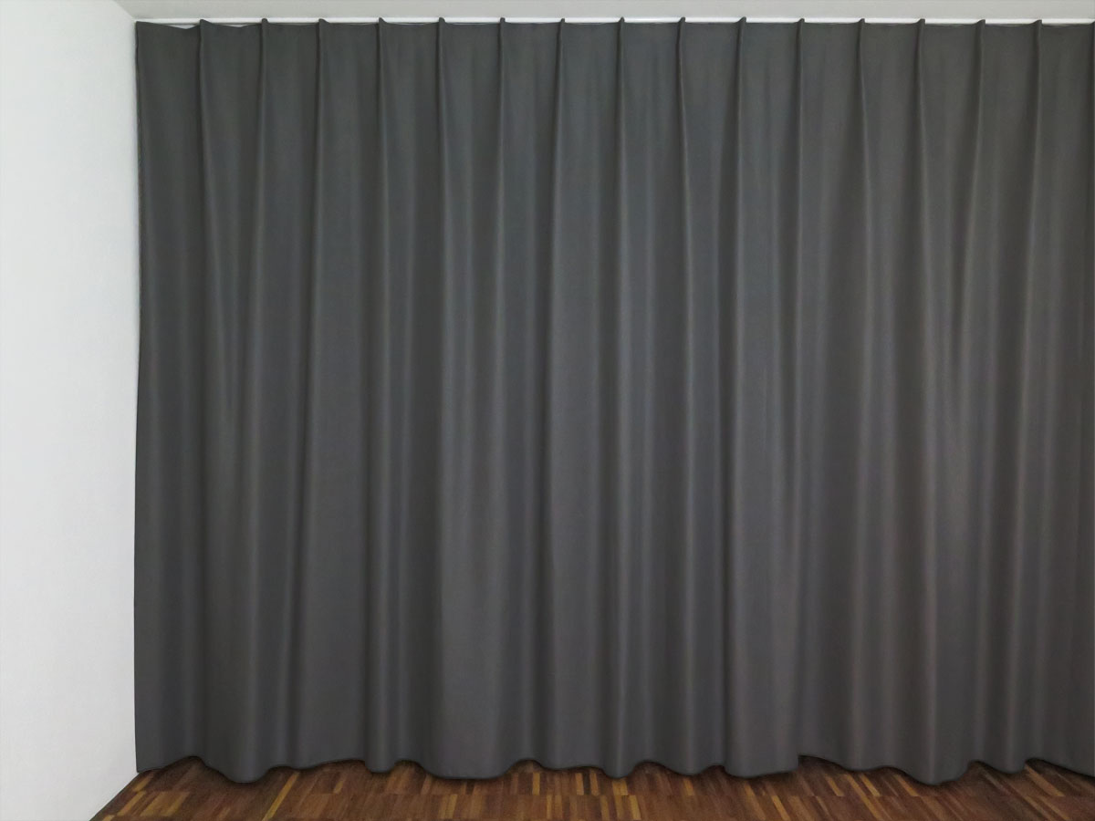 nachtvorhang luzern anthrazit uni. Black Bedroom Furniture Sets. Home Design Ideas