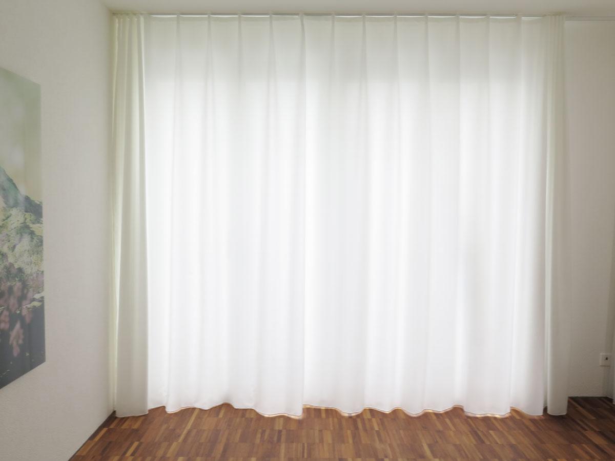 vorhang blickdicht wei lilashouse. Black Bedroom Furniture Sets. Home Design Ideas