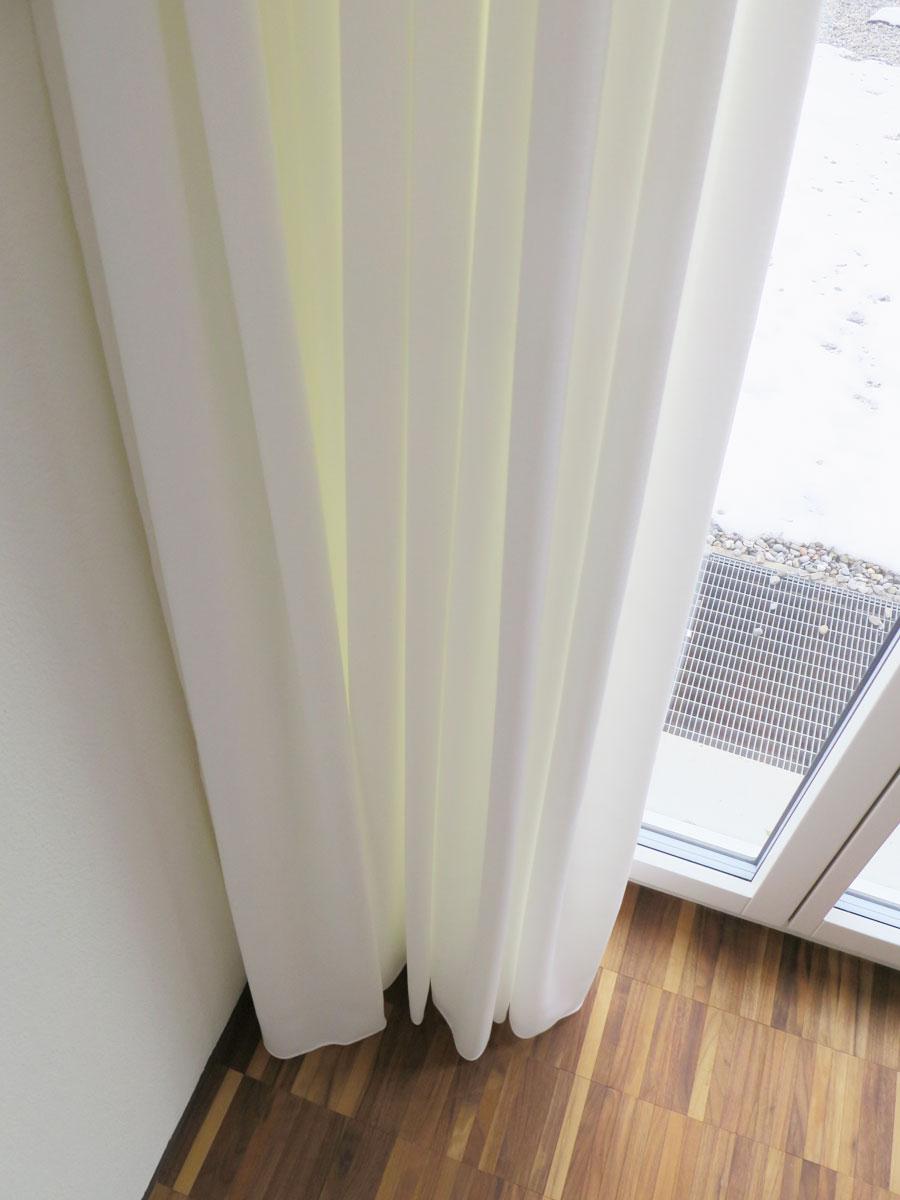 Tag Nachtvorhang Sinus Blickdicht Lichtdurchlassig