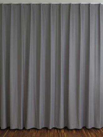 ... Fensterfront: Nachtvorhang SINGAPUR Grau Für Schlafzimmer / Wohnzimmer