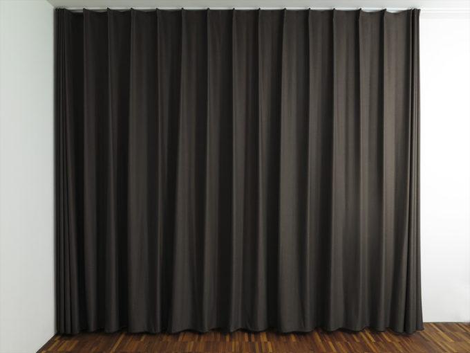 vorhang schwarz