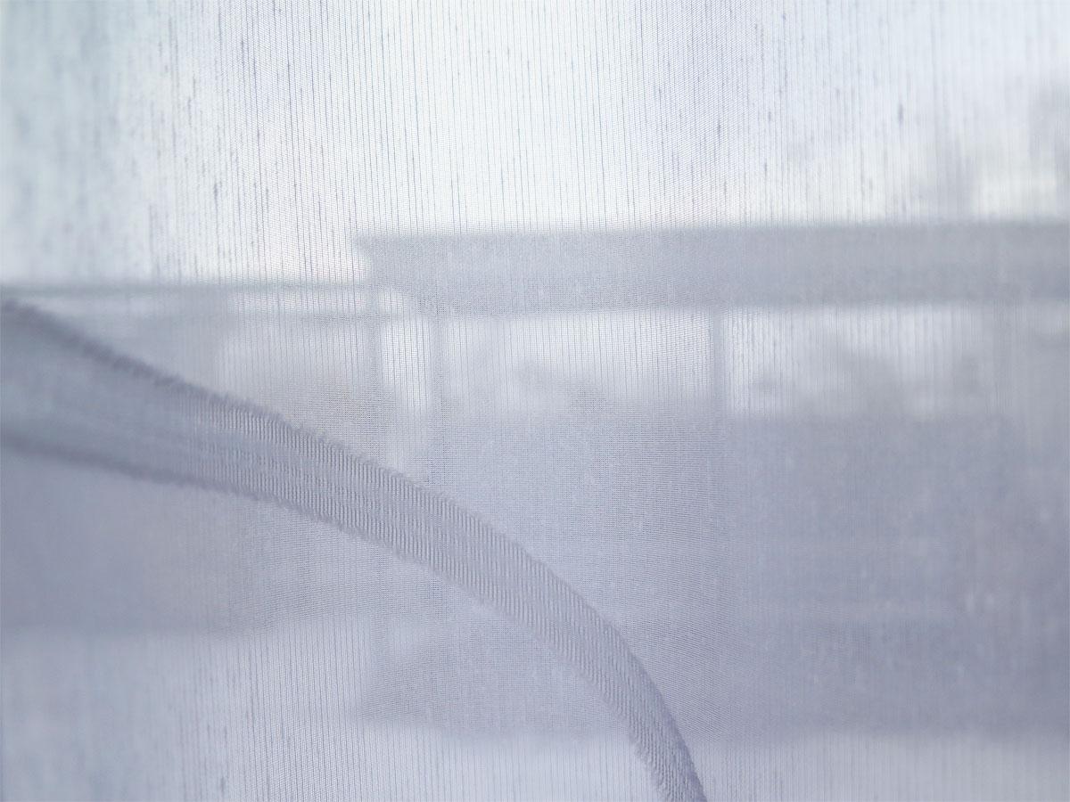Tagesvorhang SIDNEY [Kurvenmuster weiss weiss weiss beige