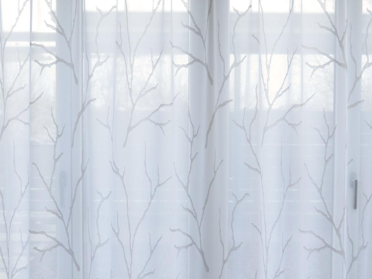 wei e vorh nge mit muster lilashouse. Black Bedroom Furniture Sets. Home Design Ideas
