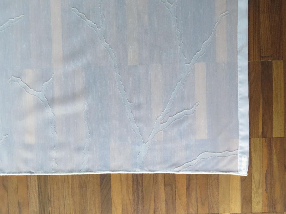 vorhang auf parkett tagesvorhang oslo ste zweige baum in weiss weiss und weiss beige. Black Bedroom Furniture Sets. Home Design Ideas