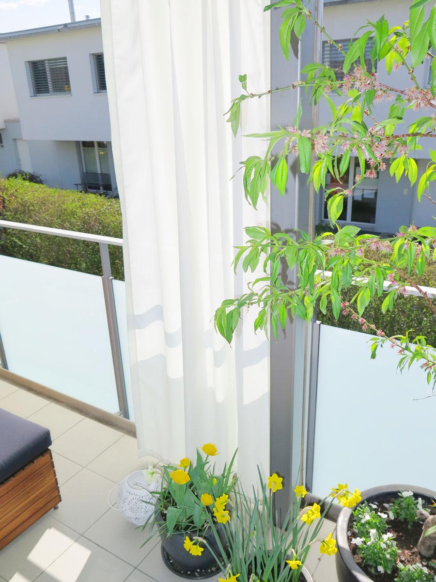 outdoor vorhang santorini nach mass weiss. Black Bedroom Furniture Sets. Home Design Ideas