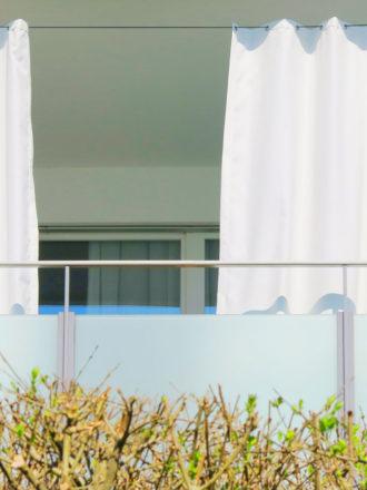 Outdoor Vorhange Fur Balkon Terrasse Und Garten Vorhangbox Ch