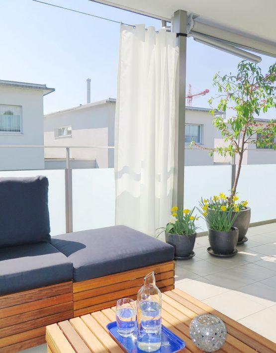 outdoor vorhang santorini fertigvorhang weiss. Black Bedroom Furniture Sets. Home Design Ideas