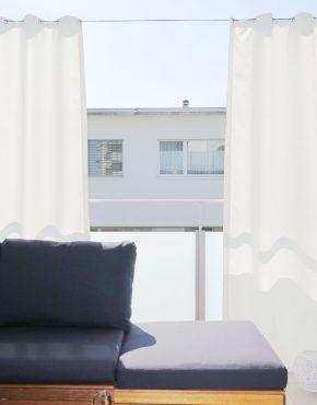 outdoor vorh nge f r balkon terrasse und garten. Black Bedroom Furniture Sets. Home Design Ideas