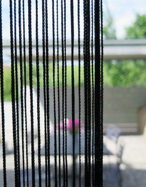 fadenvorhang orienta weiss. Black Bedroom Furniture Sets. Home Design Ideas
