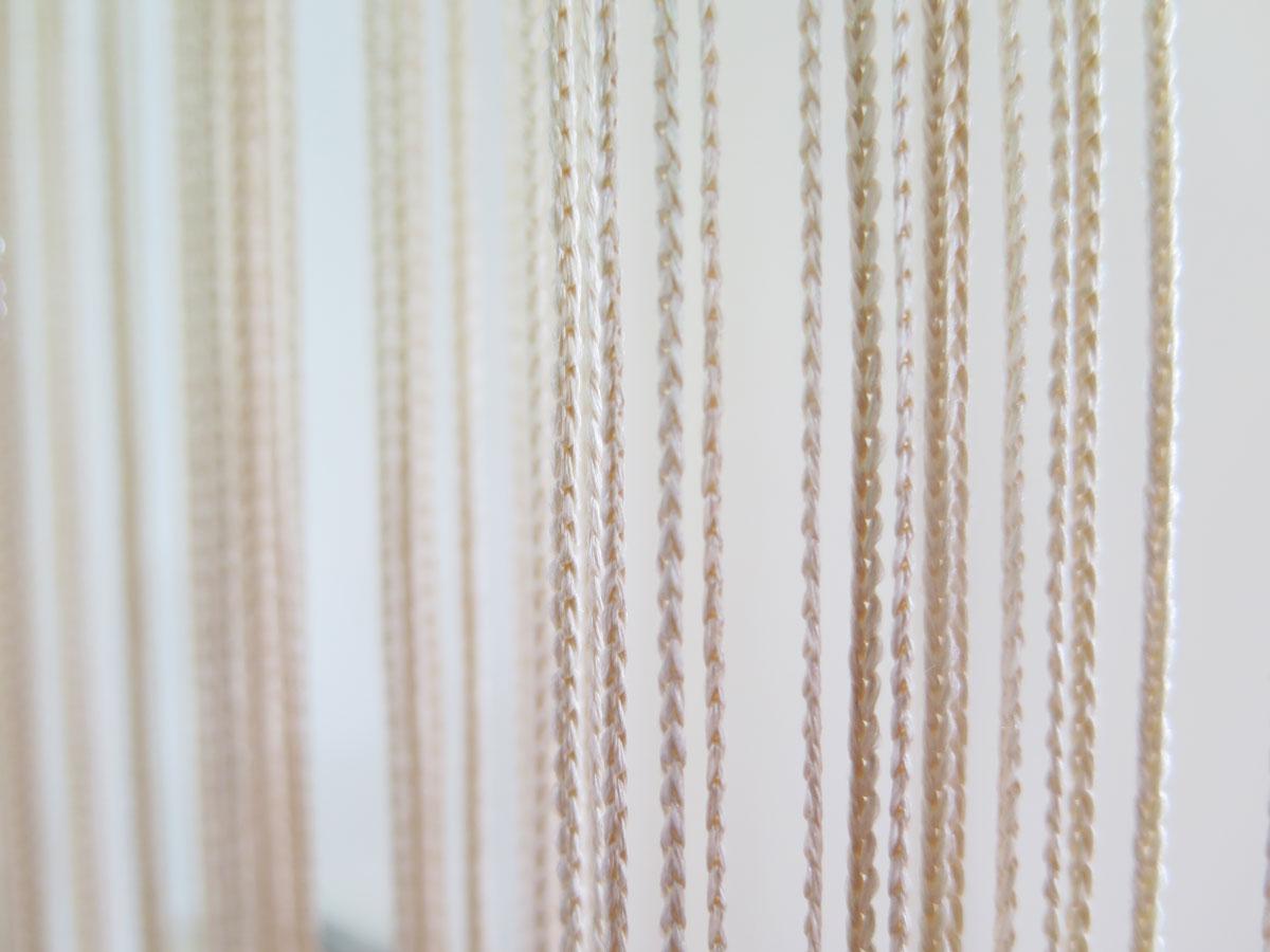 fadenvorhang orienta beige t rvorhang fliegenvorhang. Black Bedroom Furniture Sets. Home Design Ideas