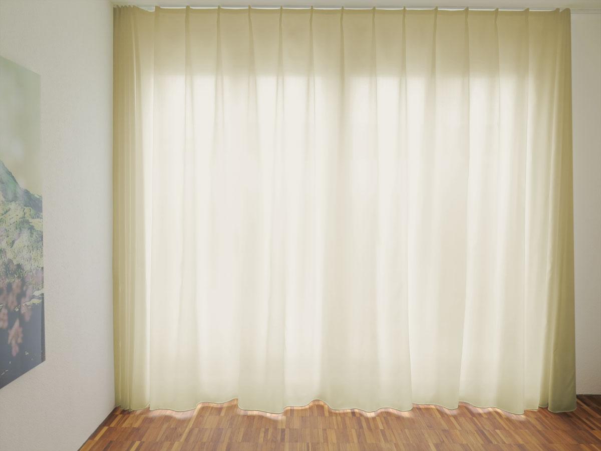 tag nachtvorhang fino weiss hellbeige beige mit feinem. Black Bedroom Furniture Sets. Home Design Ideas