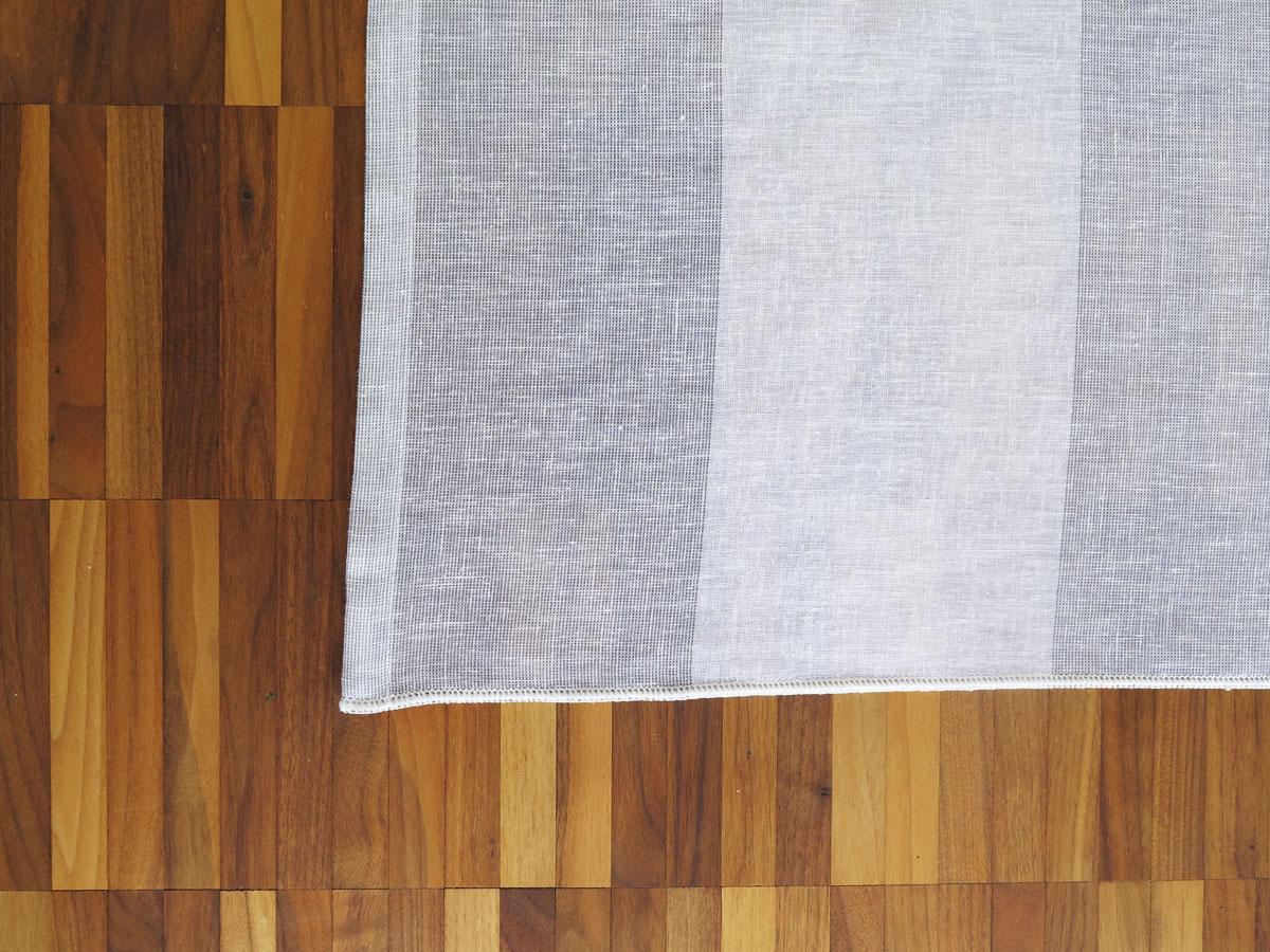 tagesvorhang rimini breite streifen weiss beige grau dunkelbraun schwarz. Black Bedroom Furniture Sets. Home Design Ideas