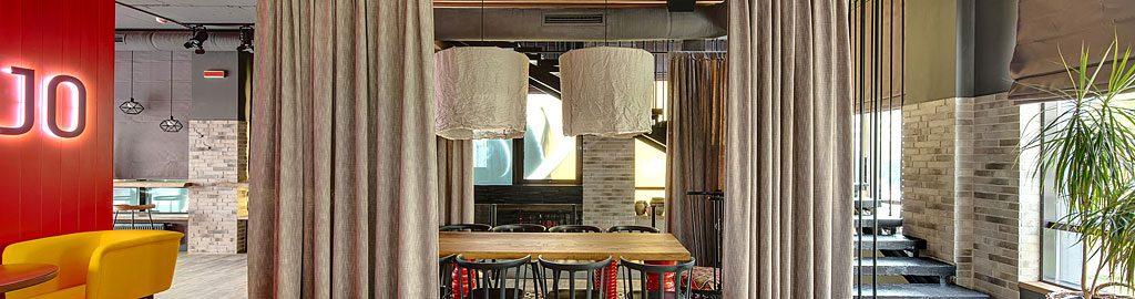windfang vorhang gastronomie zuhause image idee. Black Bedroom Furniture Sets. Home Design Ideas