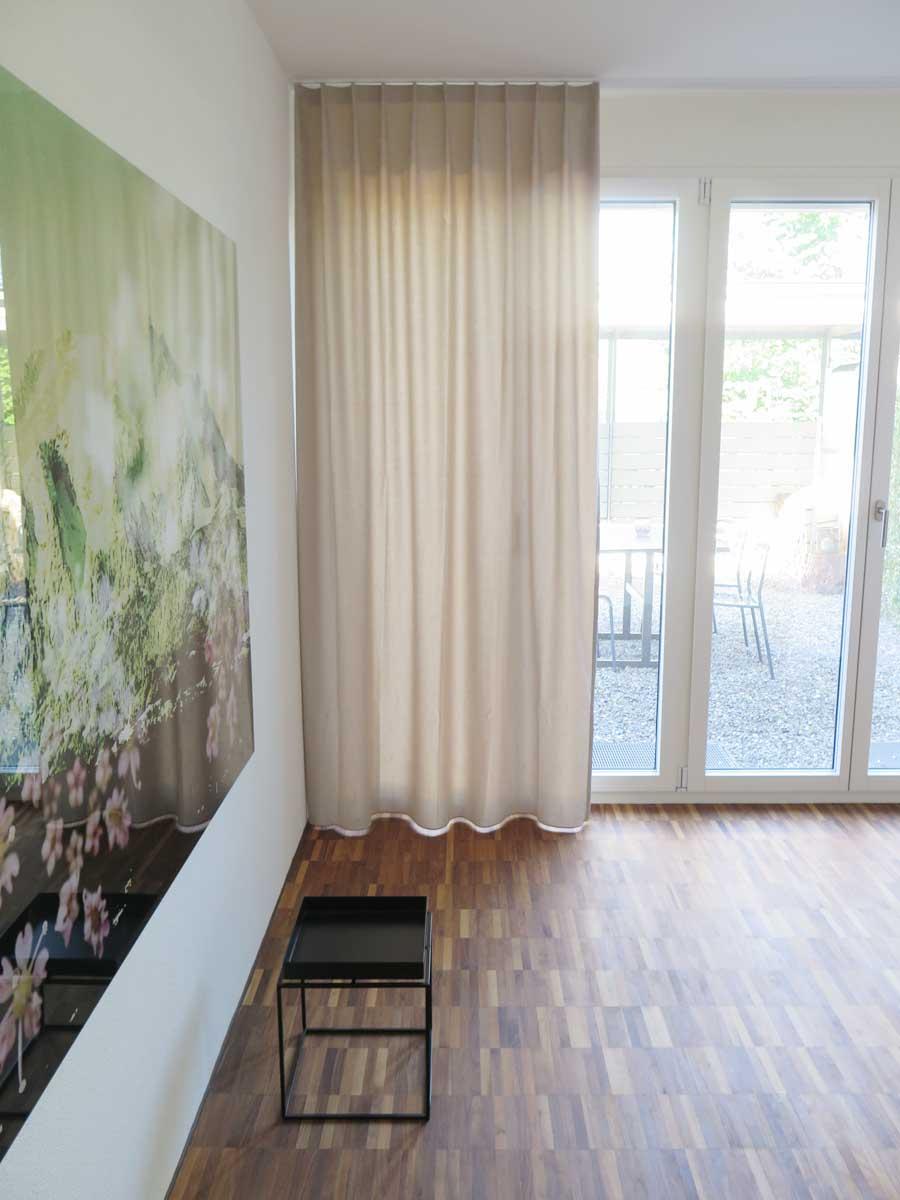 nachtvorhang sofia glanzmuster weiss beige dunkelbraun. Black Bedroom Furniture Sets. Home Design Ideas