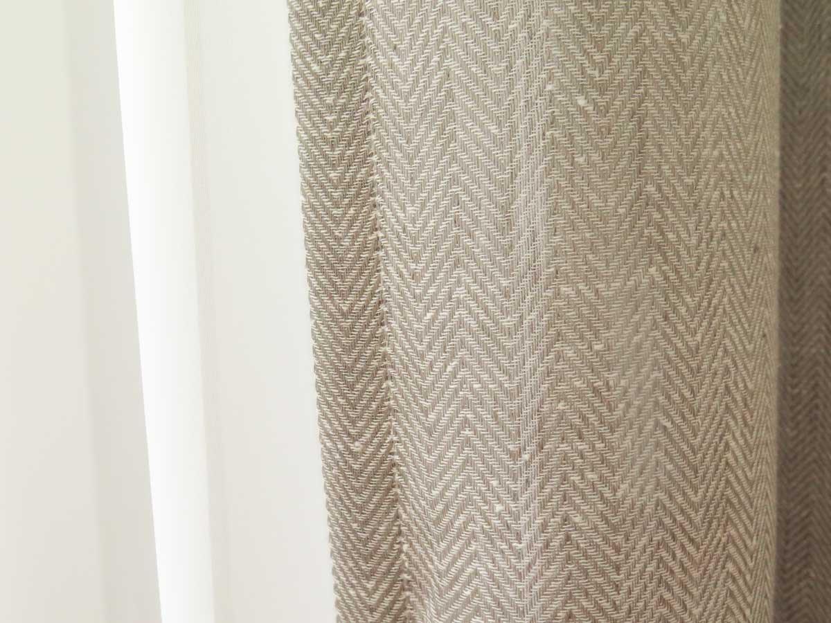 tagesvorhang milano fischgr tmuster beige schwarz. Black Bedroom Furniture Sets. Home Design Ideas