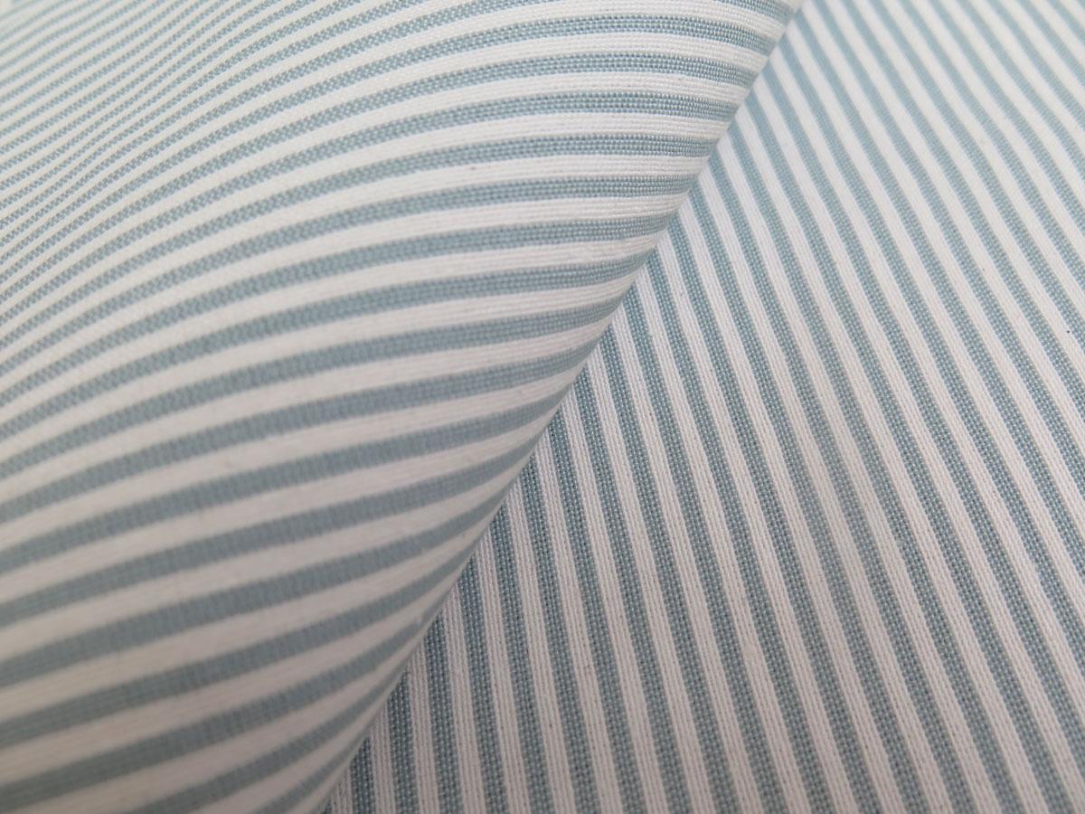 stoffmuster nachtvorhang nizza d nne maritime l ngsstreifen 2mm baumwolle. Black Bedroom Furniture Sets. Home Design Ideas