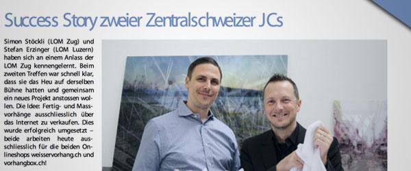 Success Story zweier Zentralschweizer JCIs.