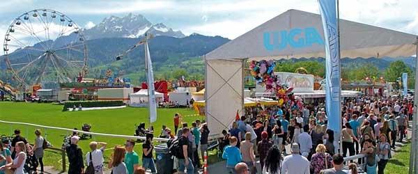 vorhangbox.ch an der LUGA Luzern.