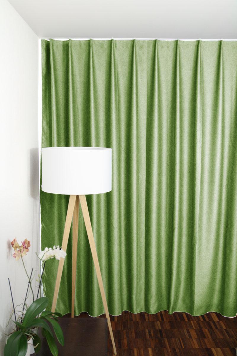 vorhang gr n nach mass mintgr n. Black Bedroom Furniture Sets. Home Design Ideas