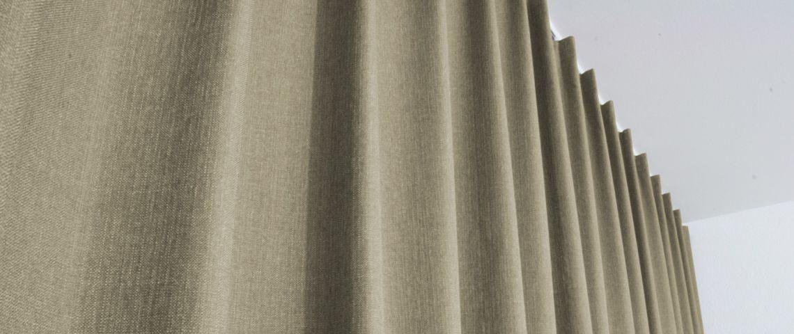 Raumteiler Vorhang Blickdicht Schlafzimmer