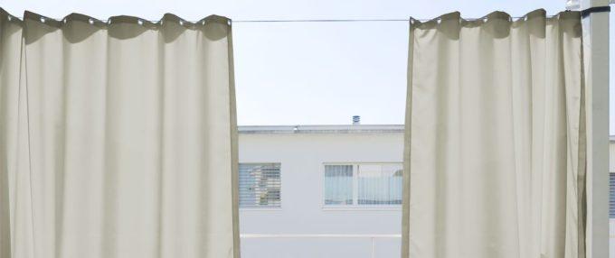 outdoor vorhang santorini nach mass beige hellgrau dunkelgrau marine. Black Bedroom Furniture Sets. Home Design Ideas