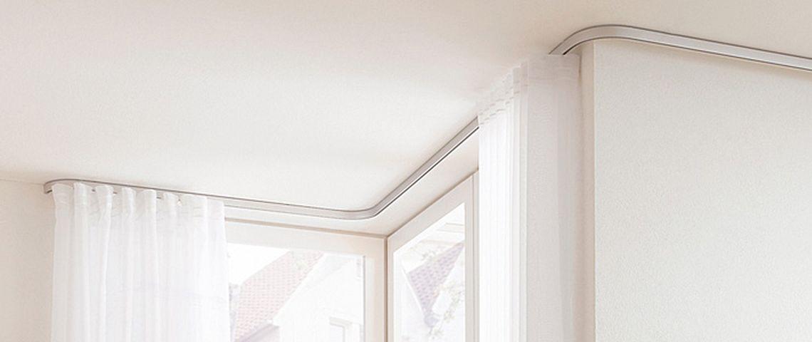Vorhange Aufhangen Moglichkeiten Die Elegante Losung Vorhangbox Ch